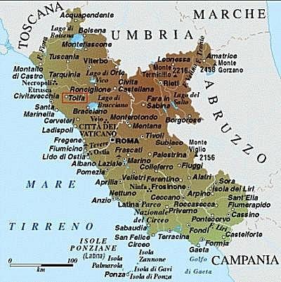 Cartina Lazio.Cartina Geogr